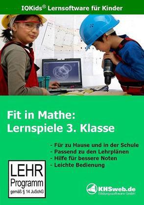 Fit in Mathe: Lernspiele 3. Klasse – Windows 10 / 8 / 7 / Vista / XP von Heim,  Evelyn