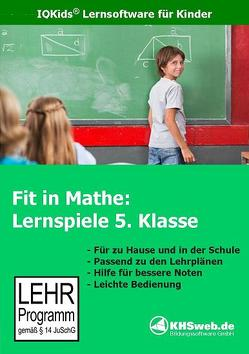 Fit in Mathe: Lernspiele 5. Klasse – Windows 10 / 8 7 / Vista / XP von Heim,  Evelyn