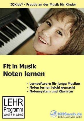 Fit in Musik: Noten lernen von Weber,  Florian