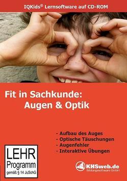 Fit in Sachkunde: Augen & Optik – (Windows 10 / 8 7 / Vista / XP) von Poehl,  Henning