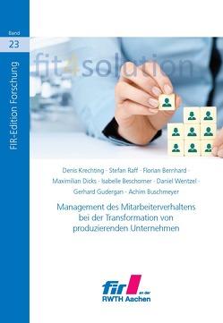fit4solution von Günther Schuh,  Volker Stich