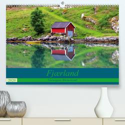 Fjærland – Norwegens Bücherstadt (Premium, hochwertiger DIN A2 Wandkalender 2020, Kunstdruck in Hochglanz) von Seidl,  Helene