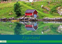 Fjærland – Norwegens Bücherstadt (Wandkalender 2019 DIN A4 quer)