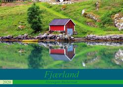 Fjærland – Norwegens Bücherstadt (Wandkalender 2020 DIN A2 quer) von Seidl,  Helene