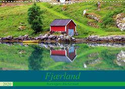Fjærland – Norwegens Bücherstadt (Wandkalender 2020 DIN A3 quer) von Seidl,  Helene