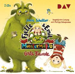 Fjelle und Emil – Monstermäßig beste Freunde von Dulleck,  Nina, Scheller,  Anne, Schepmann,  Philipp