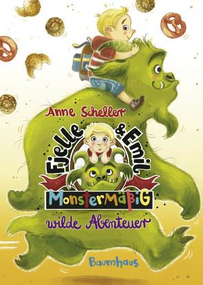 Fjelle und Emil – Monstermäßig wilde Abenteuer von Dulleck,  Nina, Scheller,  Anne