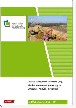Flächennutzungsmonitoring III von Meinel,  Gotthard, Schumacher,  Ulrich