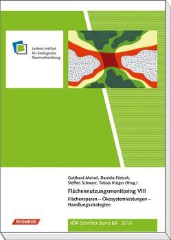 Flächennutzungsmonitoring VIII von Förtsch,  Daniela, Krüger,  Tobias, Meinel,  Gotthard, Schwarz,  Steffen