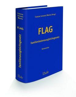 FLAG – Familienlastenausgleichsgesetz von Csaszar,  Erwin, Lenneis,  Christian, Wanke,  Rudolf