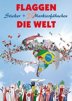 Flaggen Aufkleber – Die Welt von Freytag-Berndt und Artaria KG