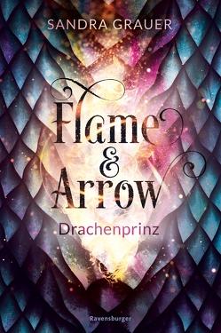 Flame & Arrow, Band 1: Drachenprinz von Grauer,  Sandra, Zero Werbeagentur GmbH