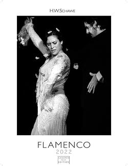 Flamenco schwarz-weiss 2022 59x42cm von Schawe,  Heinz-werner