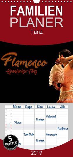 Flamenco. Spanischer Tanz – Familienplaner hoch (Wandkalender 2019 , 21 cm x 45 cm, hoch) von Landsherr,  Uli