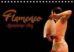 Flamenco. Spanischer Tanz (Tischkalender 2019 DIN A5 quer) von Landsherr,  Uli