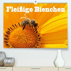Fleißige Bienchen (Premium, hochwertiger DIN A2 Wandkalender 2021, Kunstdruck in Hochglanz) von Wolf,  Jan
