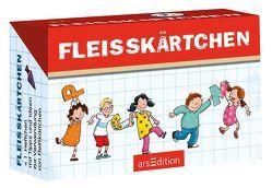 Fleißkärtchen von Löwenberg,  Ute, Saleina,  Thorsten
