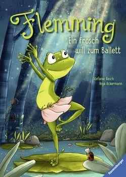 Flemming – Ein Frosch will zum Ballett von Ackermann,  Anja, Reich,  Stefanie