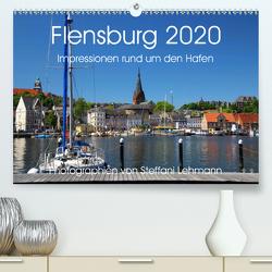 Flensburg 2020. Impressionen rund um den Hafen (Premium, hochwertiger DIN A2 Wandkalender 2020, Kunstdruck in Hochglanz) von Lehmann,  Steffani