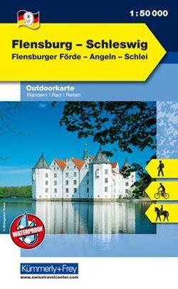 Flensburg – Schleswig Nr. 09 Outdoorkarte Deutschland 1:50 000