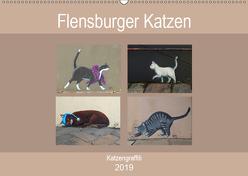 Flensburger Katzen (Wandkalender 2019 DIN A2 quer) von Busch,  Martina
