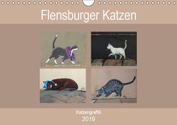 Flensburger Katzen (Wandkalender 2019 DIN A4 quer) von Busch,  Martina