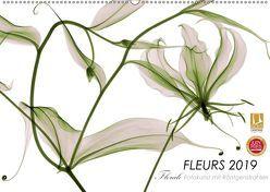 FLEURS 2019 – Florale Fotokunst mit Röntgenstrahlen (Wandkalender 2019 DIN A2 quer) von Martin Strunk,  Dr.