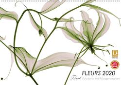 FLEURS 2020 – Florale Fotokunst mit Röntgenstrahlen (Premium, hochwertiger DIN A2 Wandkalender 2020, Kunstdruck in Hochglanz) von Martin Strunk,  Dr.