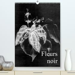 Fleurs noir (Premium, hochwertiger DIN A2 Wandkalender 2020, Kunstdruck in Hochglanz) von Küster,  Friederike