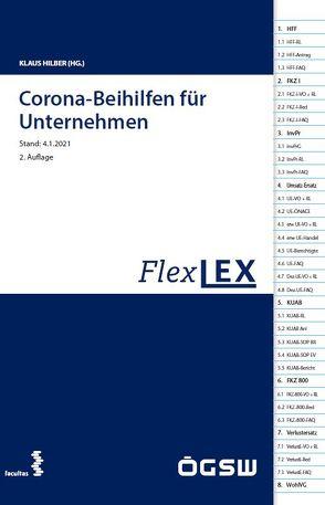 FlexLex Corona-Beihilfen für Unternehmen von Hilber,  Klaus