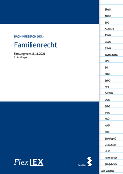 FlexLex Familienrecht von Barbara,  Bach-Kresbach