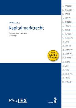 FlexLex Kapitalmarktrecht von Kammel,  Armin