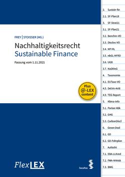 FlexLex Nachhaltigkeitsrecht – Sustainable Finance von Brigitte,  Frey, Erek,  Stoisser