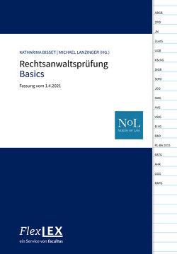 FlexLex Rechtsanwaltsprüfung Basics von Bisset,  Katharina, Lanzinger,  Michael