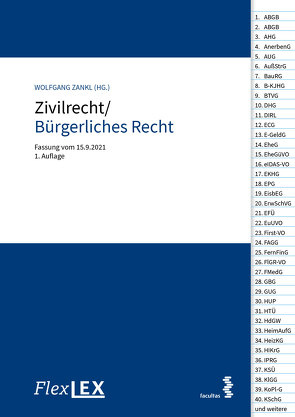 FlexLex Zivilrecht/Bürgerliches Recht von Zankl,  Wolfgang