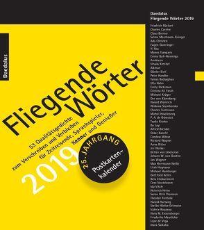 Fliegende Wörter 2019. von Grewe,  Andrea, Herbst,  Hiltrud, Mendlewitsch,  Doris