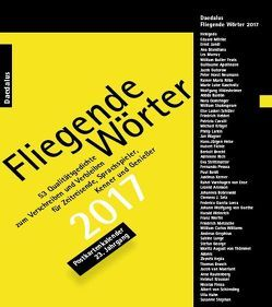 Fliegende Wörter 2017. Postkartenkalender von Grewe,  Andrea, Herbst,  Hiltrud, Mendlewitsch,  Doris