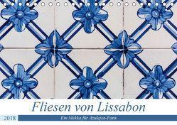 Fliesen von Lissabon (Tischkalender 2018 DIN A5 quer) von Rost,  Sebastian