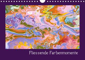Fliessende Farbenmomente (Wandkalender 2020 DIN A4 quer) von Hospes,  Danijela
