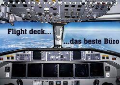 Flight deck – das beste Büro (Tischkalender 2019 DIN A5 quer) von D.,  Andy
