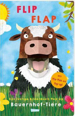 """FLIP FLAP Das lustige Bilderbuch-Pop-up """"Bauernhof-Tiere"""" von Fischer,  Lucia, Saldana,  Carmen"""