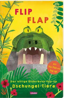 """FLIP FLAP Das lustige Bilderbuch-Pop-up """"Dschungel-Tiere"""" von Fischer,  Lucia, Saldana,  Carmen"""