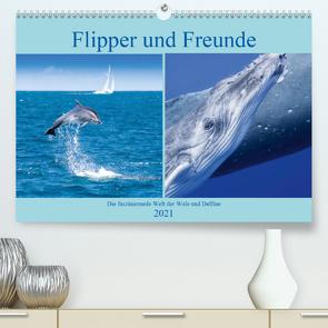 Flipper und Freunde (Premium, hochwertiger DIN A2 Wandkalender 2021, Kunstdruck in Hochglanz) von Travelpixx.com