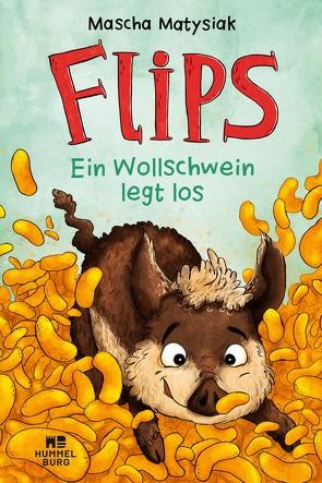 Flips – Ein Wollschwein legt los von Matysiak,  Mascha, Reich,  Stefanie