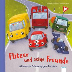 Flitzer und seine Freunde von Faust,  Christine, Grimm,  Sandra