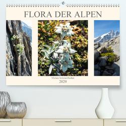 Flora der Alpen (Premium, hochwertiger DIN A2 Wandkalender 2020, Kunstdruck in Hochglanz) von Schwarzfischer Miriam,  Fotografin