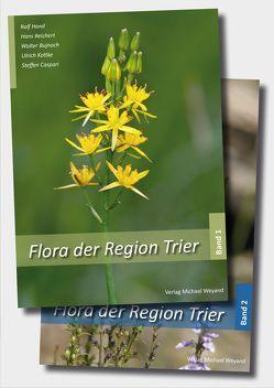 Flora der Region Trier (2-bändige Ausgabe) von Bujnoch,  Walter, Caspari,  Steffen, Hand,  Ralf, Kottke,  Ulrich, Reichert,  Hans