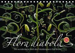 Flora diabola – Die wundersame Welt des Fotodesigners Olaf Bruhn (Tischkalender 2019 DIN A5 quer) von Bruhn,  Olaf