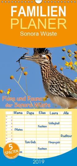 Flora und Fauna der Sonora Wüste – Familienplaner hoch (Wandkalender 2019 , 21 cm x 45 cm, hoch) von Wilczek,  Dieter-M.