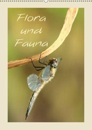 Flora und Fauna (Wandkalender 2018 DIN A2 hoch) von Hultsch,  Heike